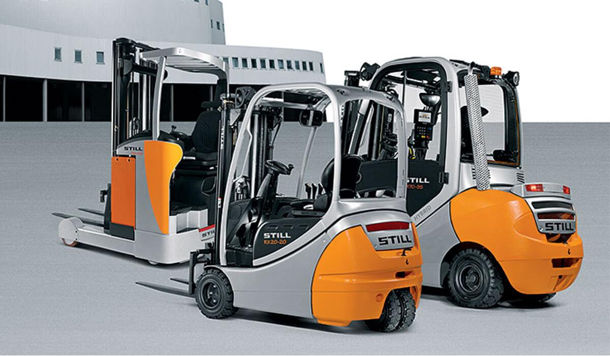Still Electric Forklift Trucks